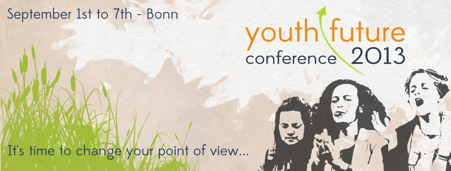 Invitation to the Youth Future Conference 2013