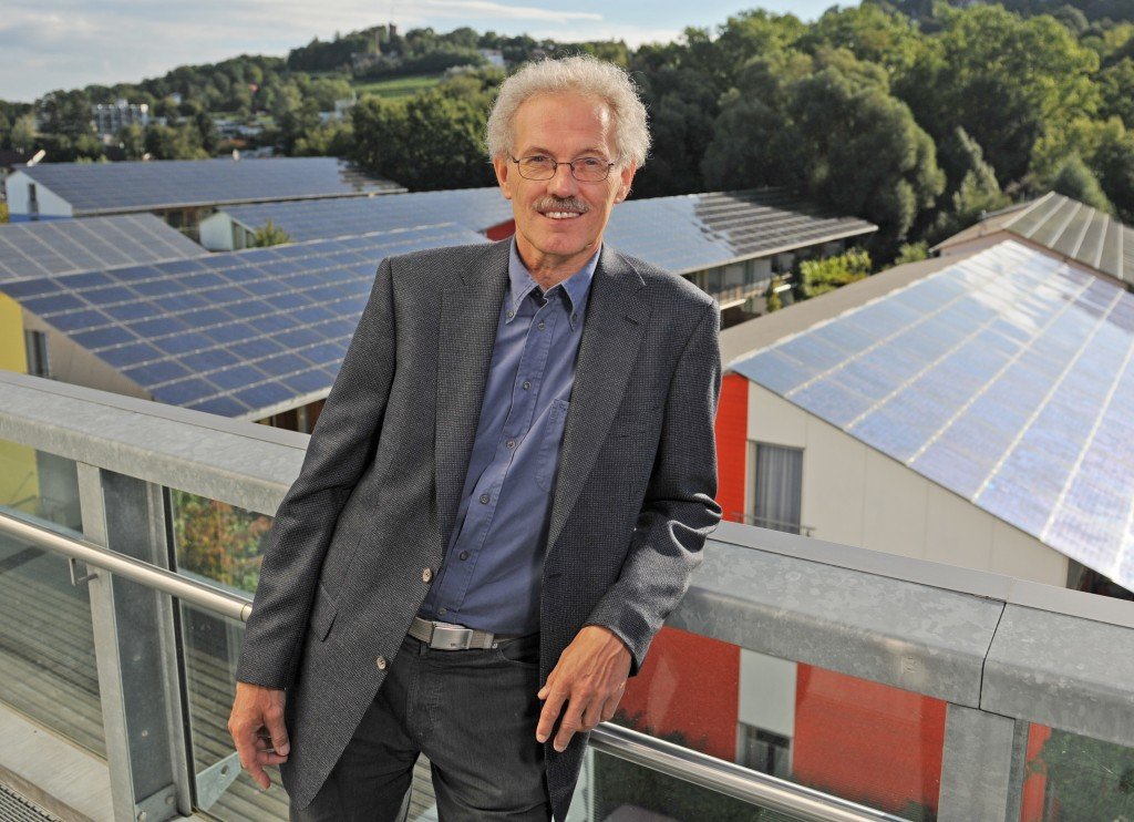 Dr Rainer Griesshammer (57), winner of the DBU's 2010 German Environmental Award, has decisively influenced the environmental debate in Germany and lives every single day according to the principle of sustainability © Patrick Seeger/DBU